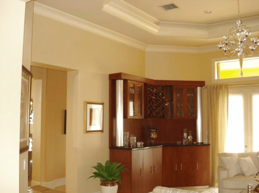Interior Painting - Living Room Walls