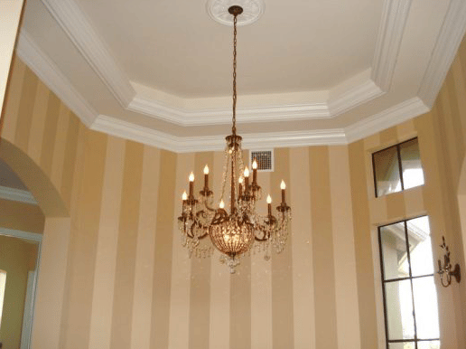 Interior Painting - Dining Room Walls - Stripes