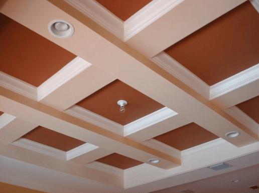 Interior Painting - Ceiling After