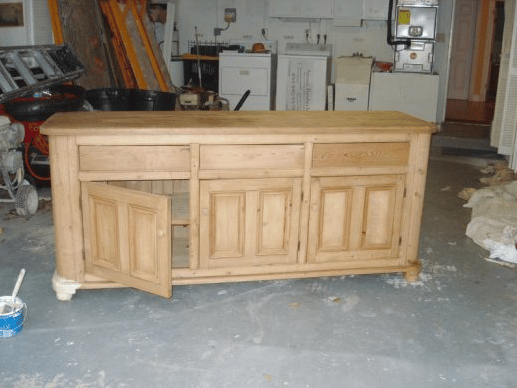 Hutch - Before Stain and Aging