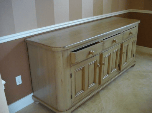 Hutch - After Stain and Aging