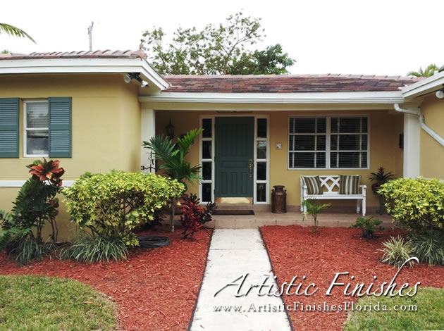 Testimonials for south florida painters artistic finishes for Florida exterior paint colors