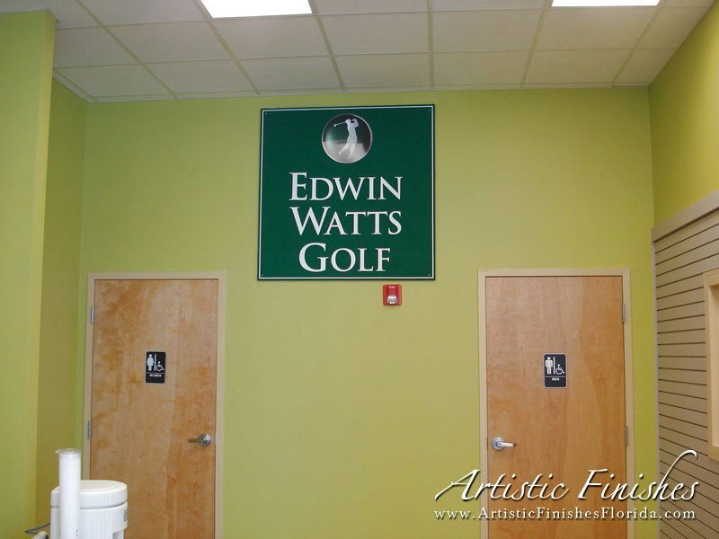 Edwin Watts Golf Interior Walls
