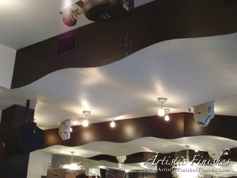 Cafe Martorano Interior Ceiling