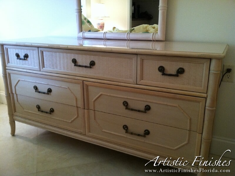 Dresser Before Faux Finish