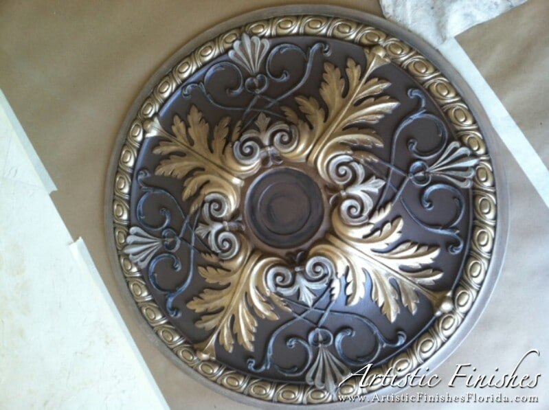 Faux Finish Medallion