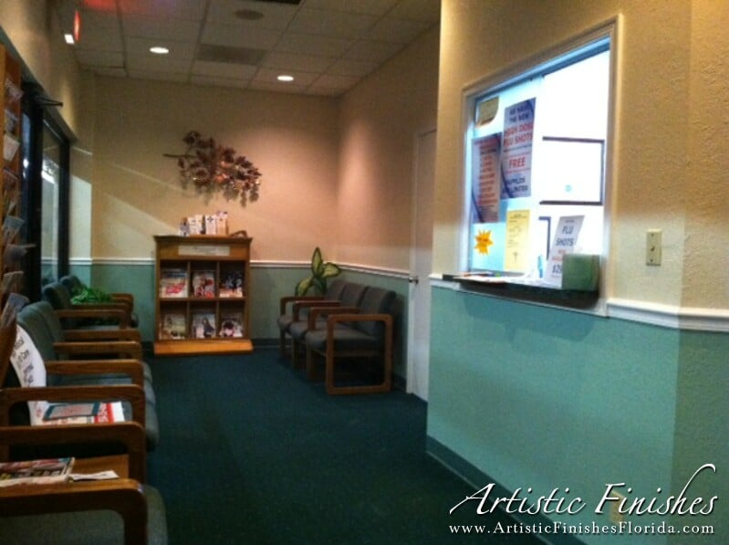Waiting Room Transformation In Coral Springs Fl