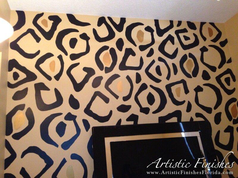 Cheetah Wall - Pembroke Pines