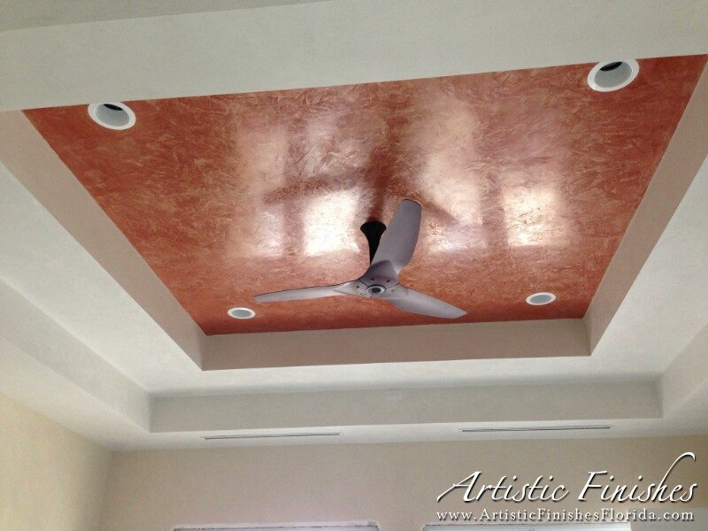 Venetian Plaster Bathroom Ceiling