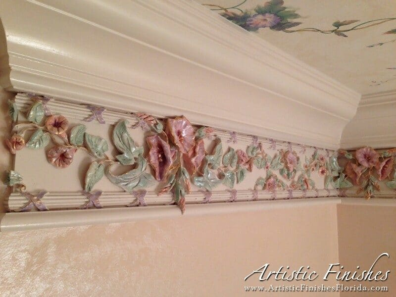 Fort Lauderdale Palm Aire Bathroom Molding