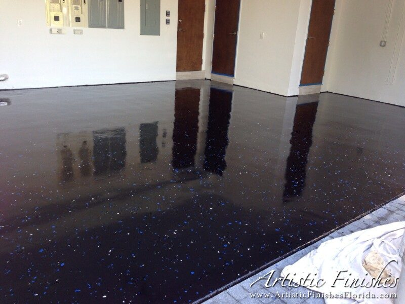 Fort Lauderdale Epoxy Garage Floor After